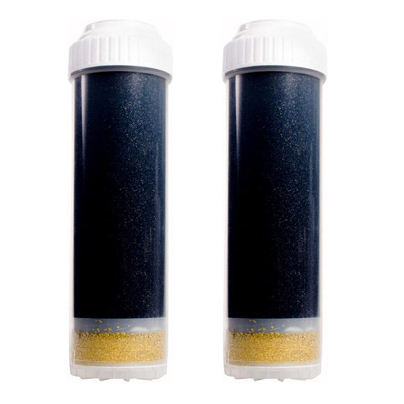 AF-1002 - 3-Stage KDF GAC Filter Replacement Filter Cartridge - 2PK