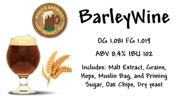 Barley Wine Ingredient Kit