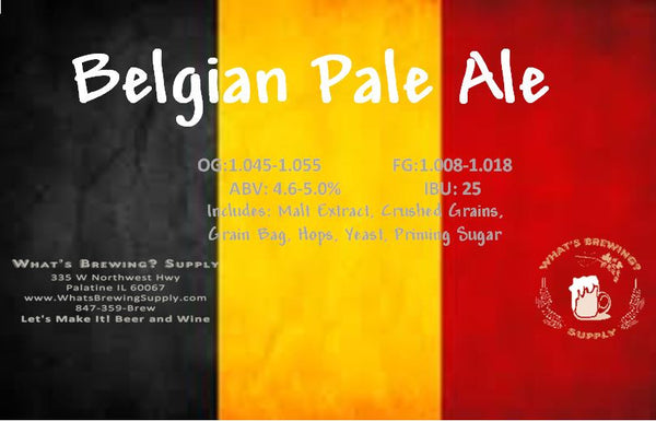 What's A Belgian Pale Ale