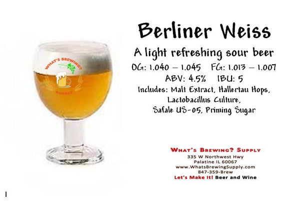 What's A Berliner Weiss