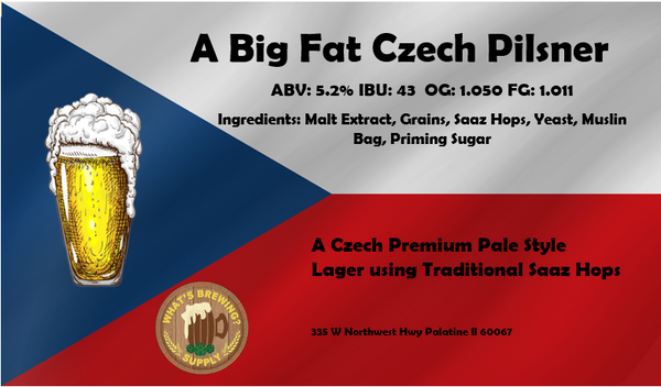 A Big Fat Czech Ingredient Kit