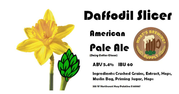 Daffodil Slicer Pale Ale Ingredient Kit
