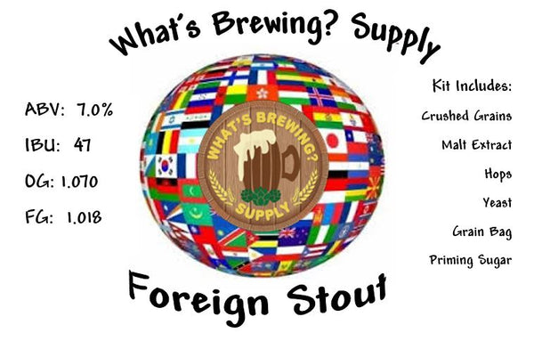 What's a Foreign Stout Ingredient Kit