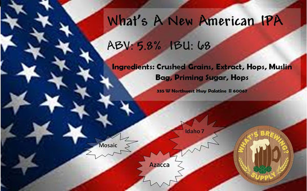 New American IPA Ingredient Kit