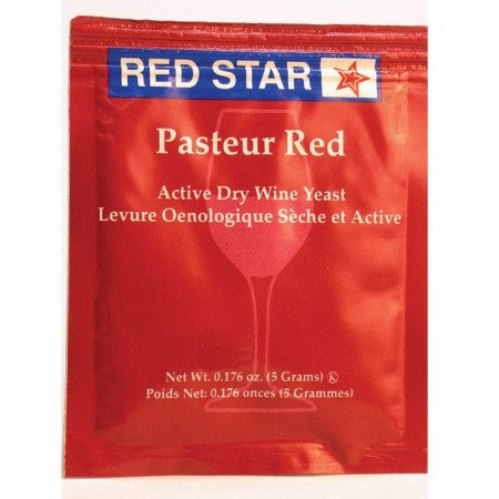 Red Star Pasteur Red Wine Yeast, 5 gm