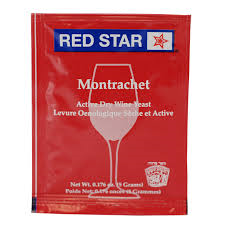 Red Star Montrachet Wine Yeast, 5 gm