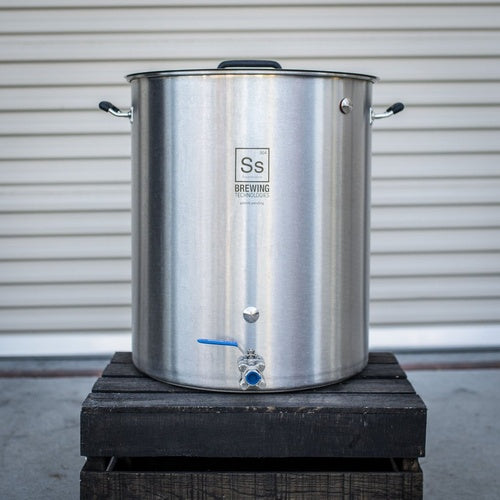 Ss BrewTech Stainless Steel Brewing Kettle - 30 gal.