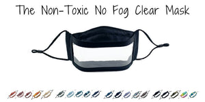 America Made No Fog Clear Window Mask - Made in the USA