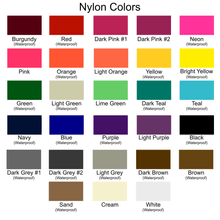 Load image into Gallery viewer, Nylon Color Selection for Tutenago Traveler Fanny Pack and Small Crossbody Purse