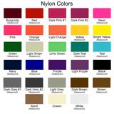 Tutenago Nylon Color Chart