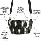Load image into Gallery viewer, Anatomy of a Traveler Bum Bag and Small Cross body Bag by Tutenago