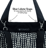 Lobster Snaps in an Essential Tote Bag Set by Tutenago
