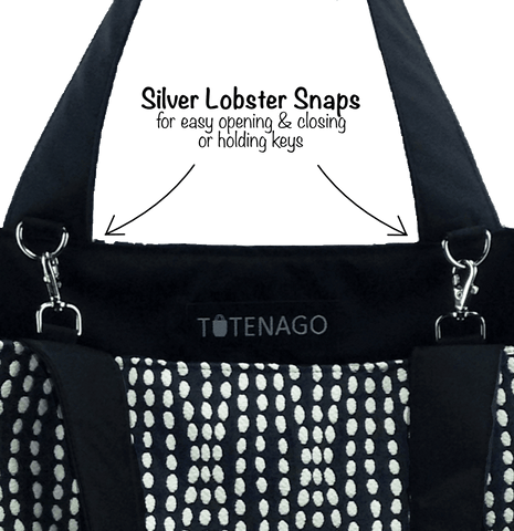 4805fdc920 ... Lobster Snaps in an Essential Tote Bag by Tutenago · Nylon ...