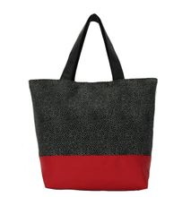 Load image into Gallery viewer, Upcycled 1 | Red Nylon | RTS Essential Tote Bag | Medium