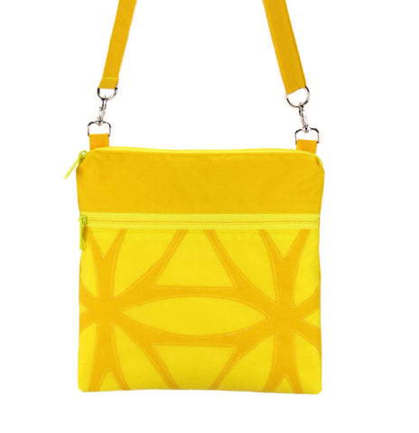 Yellow Yellow | Graphic Mini Square Crossbody Bag