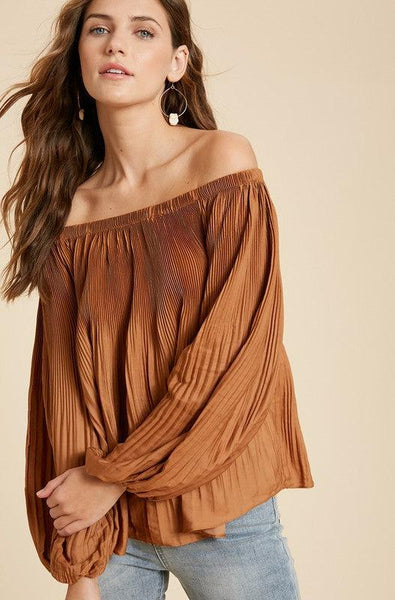 Gucci Pleated Blouse