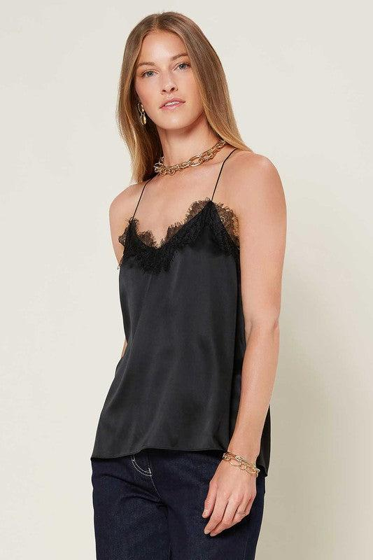 The SIlk Lace Cami