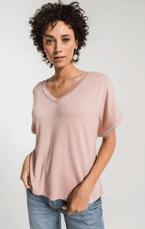 Alda Dolman Tee Wood Rose
