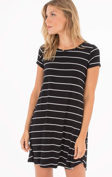 Z Supply Pencil Striped Dress - Front