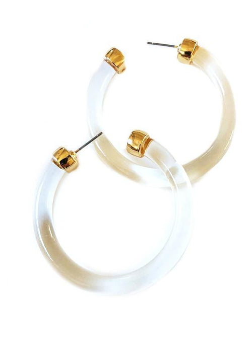 Eugene Crystal Hoops