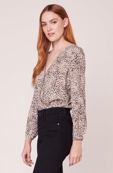 Animal Print Magnetism Bodysuit