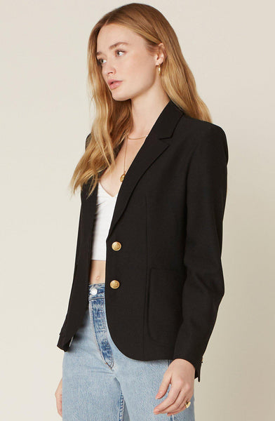Blaze Of Glory Black Blazer