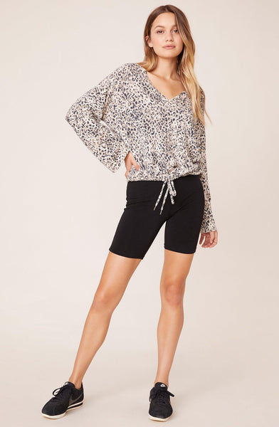 Purr My Last Email Cheetah Sweater