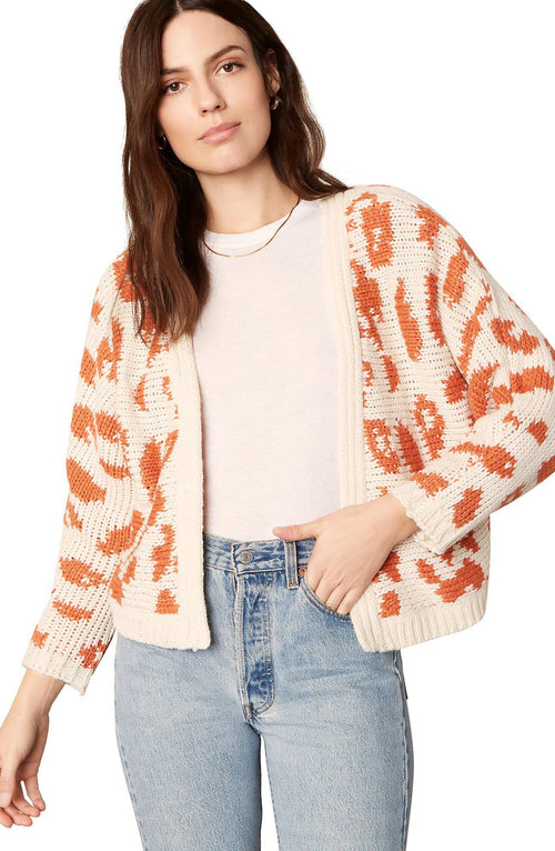 Untamed Art Cardigan