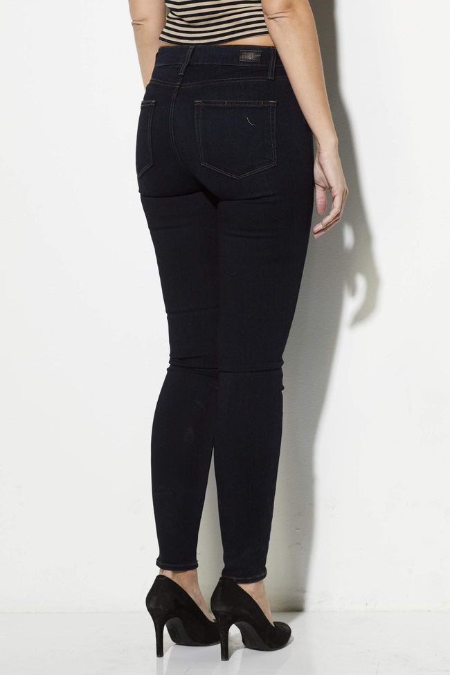 Paige Denim - Hoxton Ultra Skinny- Mona - rear