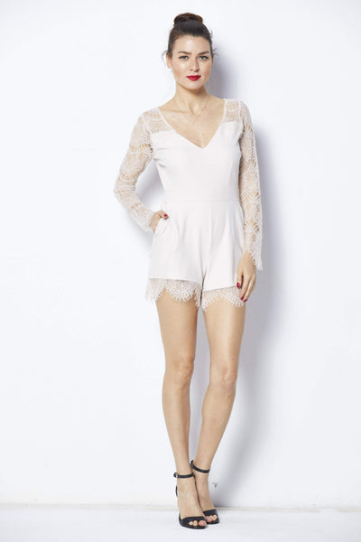 Cupcakes & Cashmere Erma Romper - Front