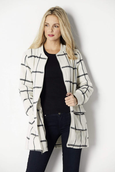 Cupcakes and Cashmere Belva Coat - Front