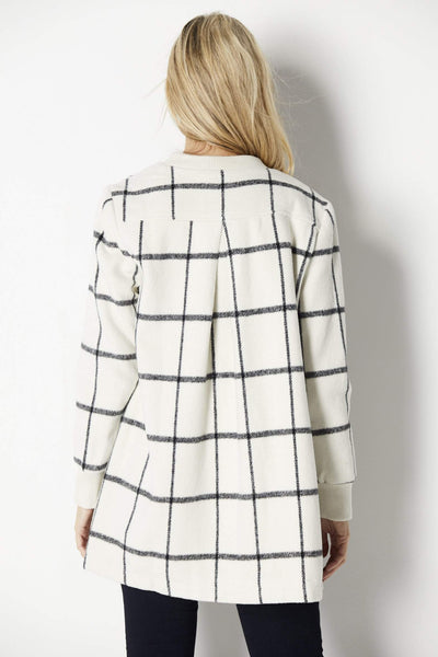 Cupcakes and Cashmere Belva Coat - Back