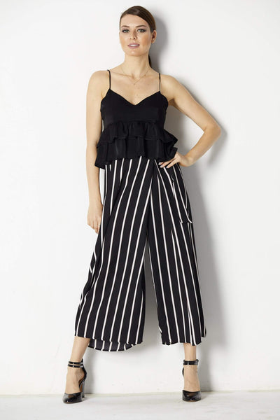 Lush Striped Pants - Front