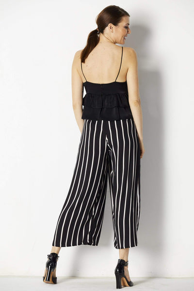 Lush Striped Pants - Back