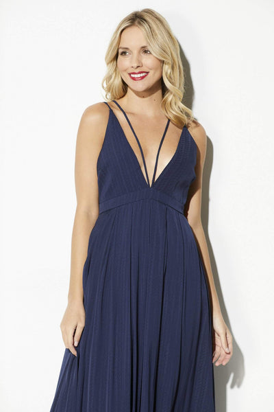 Lucy Pairs - Navy Double Strap Maxi