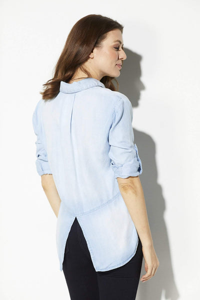 Bella Dahl - Light Mist Button Down - rear