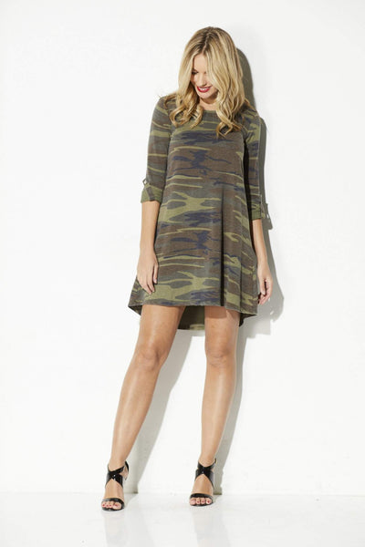 Z Supply - The Camo Symphony Dress