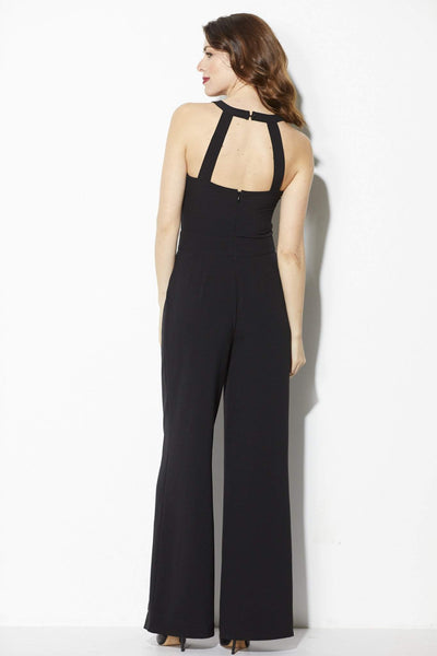 Cupcakes & Cashmere - Black High Neck Jumpsuit  - Back
