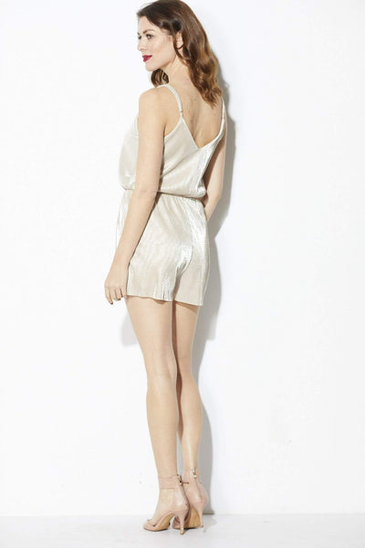 Everly - Champagne Romper - Back