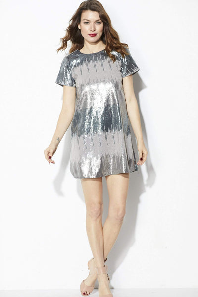 Show Me Your MuMu = Tallulah Sequin Dress = Front