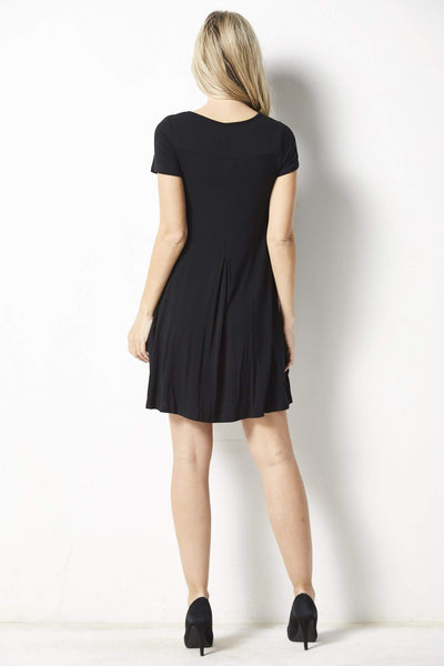 Z Supply The Swing T-Shirt Dress - Back