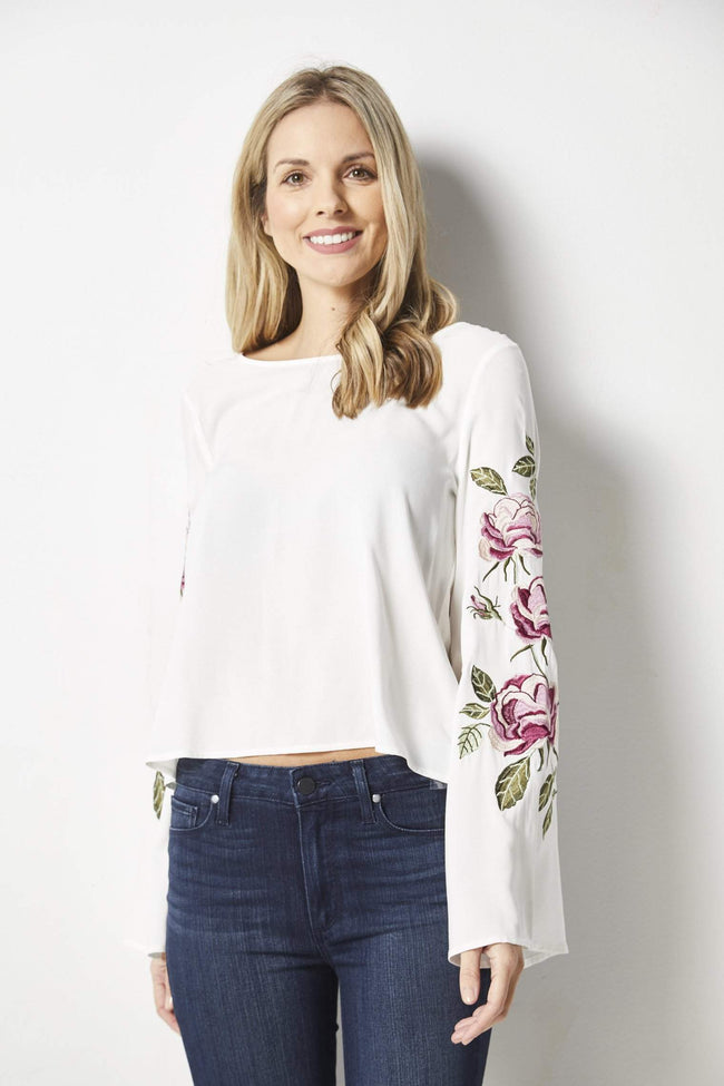 Cupcakes & Cashmere Aldona Top - Front