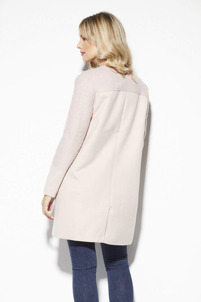 Cupcakes & Cashmere Blush Dress Coat - Back