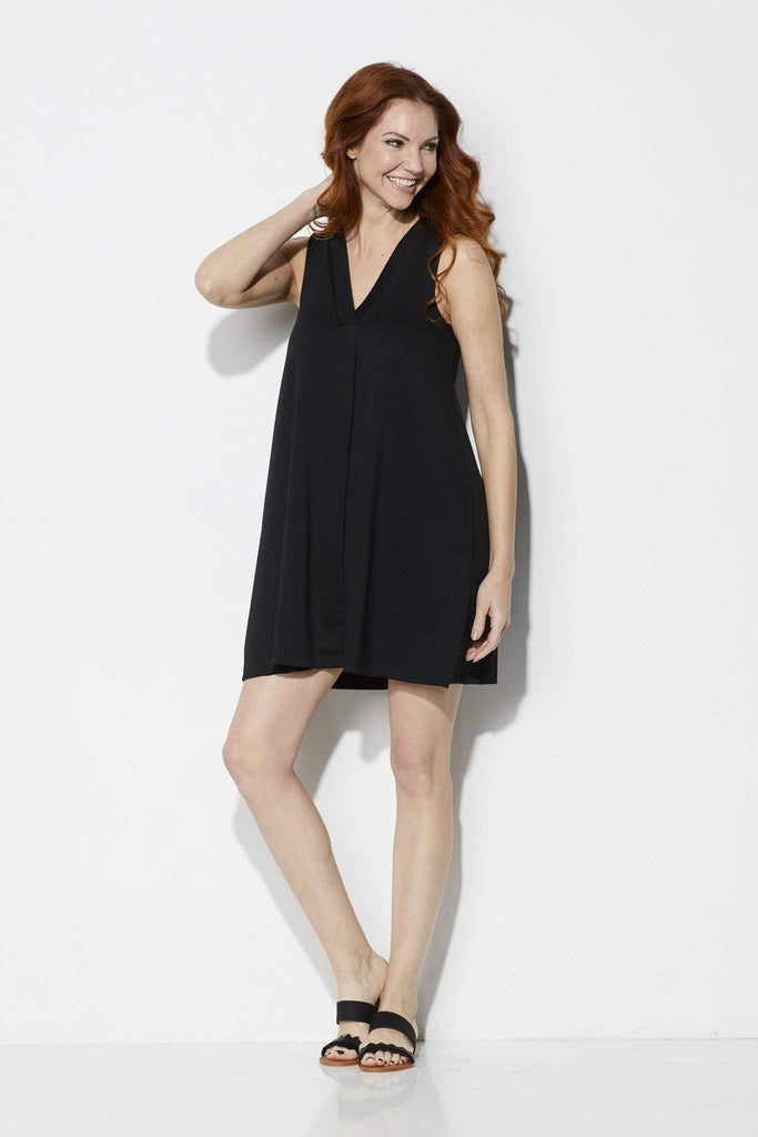Z Supply The Olivia Ponte Dress = Front