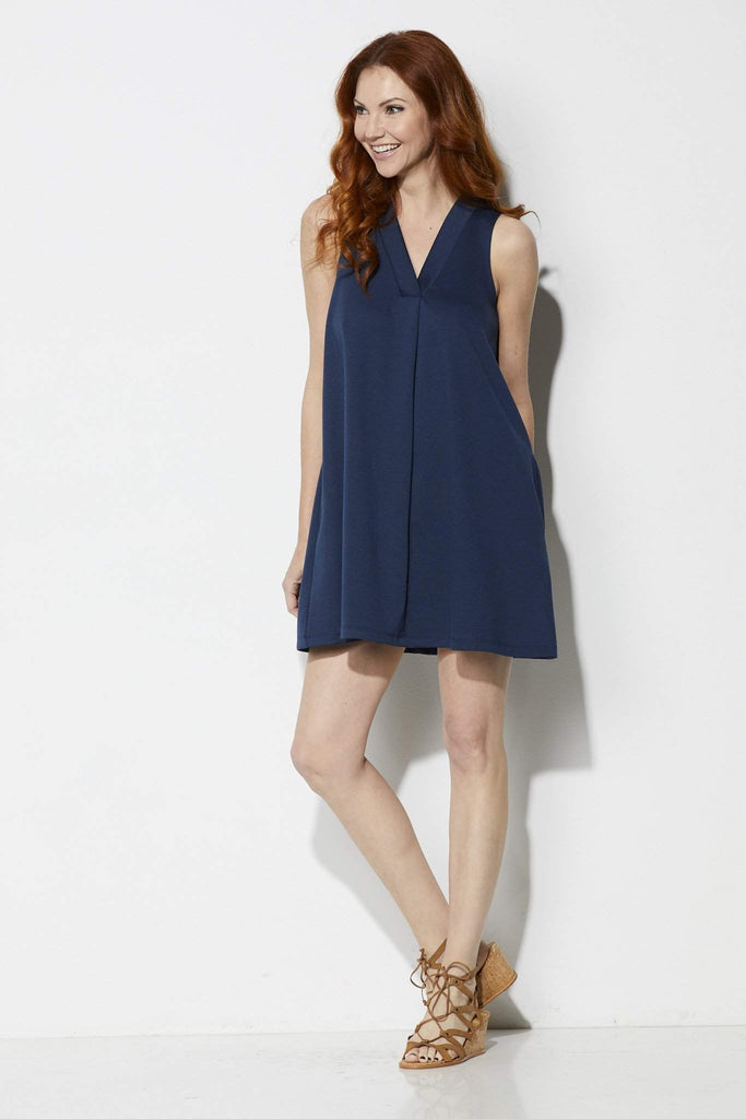 Z Supply The Olivia Ponte Dress - Front