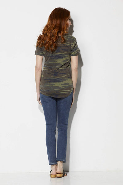 Z Supply The Camo Pocket Tee - Back