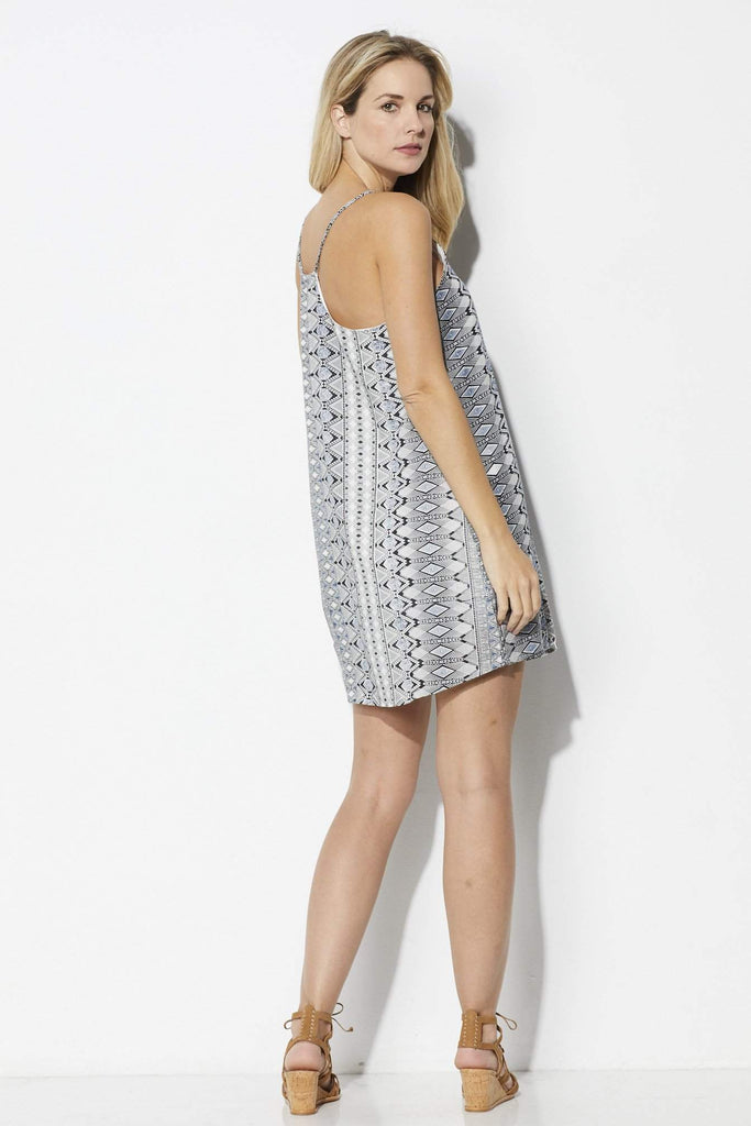 Bishop + Young Inverted Printed Swing Dress = Back
