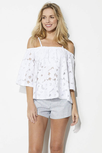 Jack by BB Dakota Oregano Top - Front