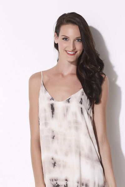 Hi-Lo Pink Sand Tie Dye Dress