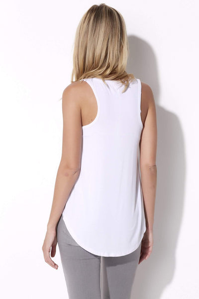 Z Supply - The Vagabond Tee - rear, white